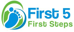 First 5 First Steps official logo