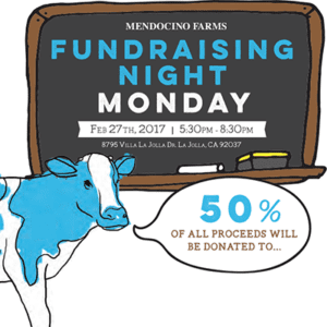 Mendocino Farms Fundraiser - Feb 27th